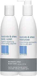 LATHER Baobab & Shea Body Duo