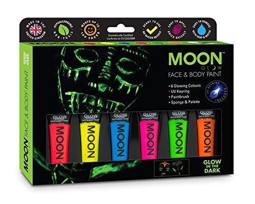 Moon Glow - Pintura facial corporal brilla oscuridad