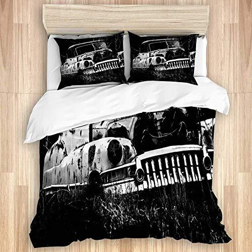 Yaoni Colecciones de Ropa de Cama a lo Largo de la Ruta 66 Funda nórdica Decorativa para Dormitorio...