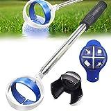 Golf Ball Retriever, Extendable Golf Ball Retriever for Water [Longest 106  ] w/Golf Ball Pick Up Retriever Grabber Claw Sucker Tool, Golf Gift for Men Dad Husband, Length: 8.8 Ft / 2.6 m