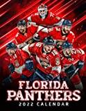 Florida Panthers 2022 Calendar: 18-month Calendar from Jul 2021 to Dec 2022 with size 8.5x11 inch for all fans