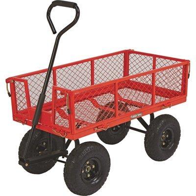 Steel Cart, 34in.L x 18in.W, 400-Lb. Capacity