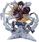 kyman Personajes de Anime Mono D Luffy-Gear 4 Leo Bazooka One Pieza Anime Anime Figura de acción Mod...