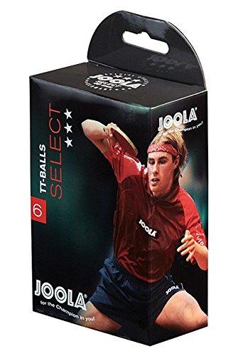JOOLA Select 6er Bälle, weiß, One Size