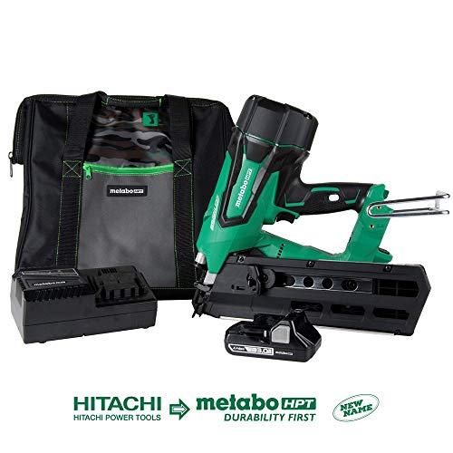 Metabo HPT NR1890DR 18V Cordless Framing Nailer, Brushless Motor, 2' up to...