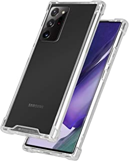 Goospery Galaxy Note 20 Ultra Case, Crystal Clear Protective Bumper Cover with Reinforced Corners, Shockproof Slim Hybrid ...