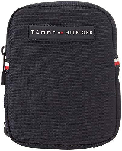 Tommy Hilfiger Compact Crossover, Sacs pour ordinateur portable homme, Bleu (Tommy Navy), 2x17x13 cm (B x H T)