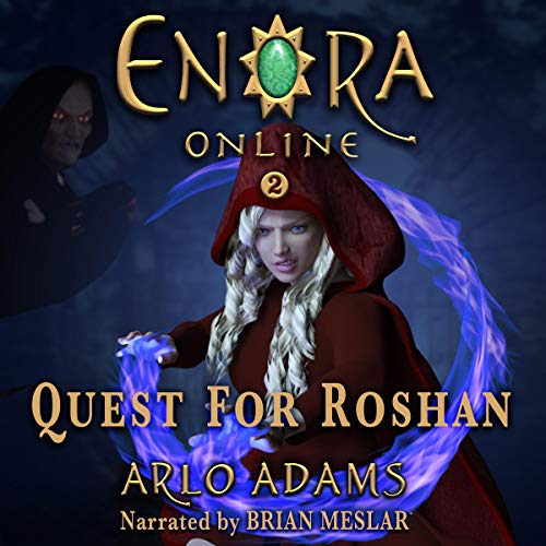 Quest for Roshan: A Fantasy LitRPG Audiobook By Arlo Adams cover art
