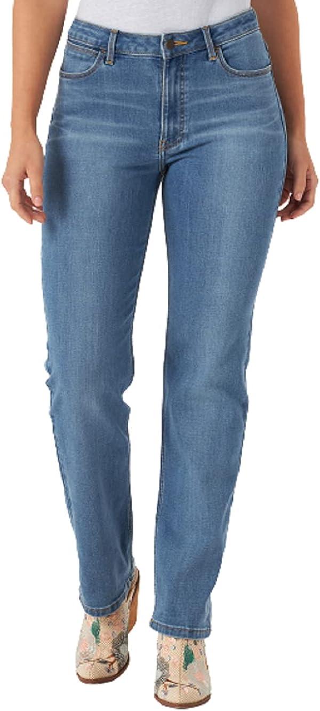 Wrangler Women's High Rise True Straight Fit Jean