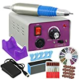 ZENY Professional 30000 RPM Nail Drill Machine Electric Nail File for Acrylic Nails Remove Gel Polish Poly Nail Gel Gift Nail Art Supplies for Home Salon Use