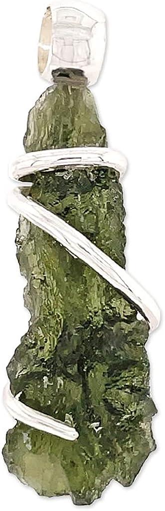 Moldavite 全国どこでも送料無料 Stone Pendant Necklace 2020春夏新作 by Stones Desire