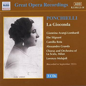 Ponchielli: Gioconda (La) (La Scala) (1931)