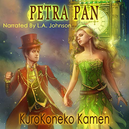 Petra Pan audiobook cover art