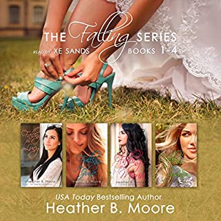 The Falling Series Box Set: Books 1-4 audiobook cover art