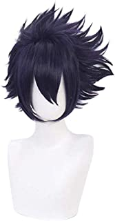 AICW My Hero Academia Anime Cosplay Wig Amajiki Tamaki Synthetic Hair Wigs for Anime-Fans(Amajiki Tamaki)