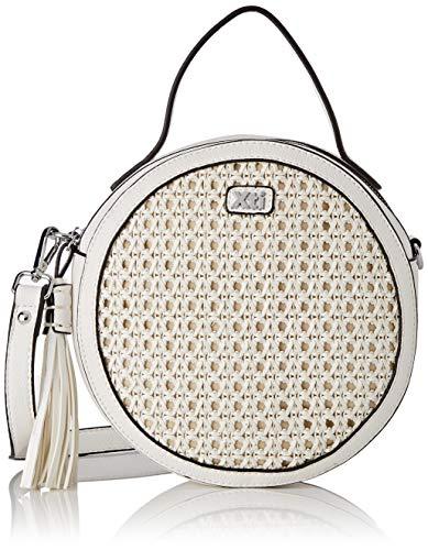 XTI 86290.0, Bolso bandolera para Mujer, Blanco (Blanco), 22x22x7 cm (W x H x L)