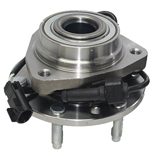 Detroit Axle 513188 Front Wheel Bearing and Hub Assembly for Select Buick, Chevrolet, GMC, Isuzu Models [w/ 6 Lug, ABS]