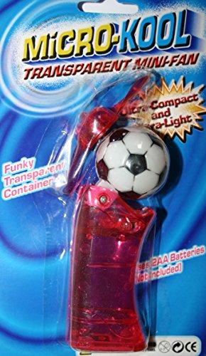 Kool Micro Pocket Fan Personal Mini Euro Football Fan