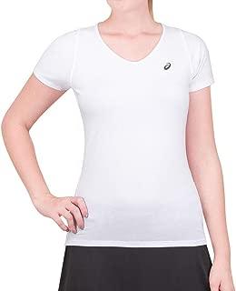 Camiseta Asics Sleeve VNECK Top Branca