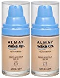 ALMAY Wake Up Liquid Makeup IVORY #010 (PACK of 2) PLUS A FREE MUA LIP BALM