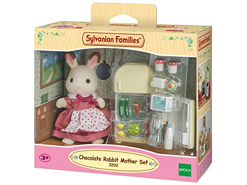 Sylvanian Family 2202 - Mamma Coniglio Cioccolato con Frigorifero