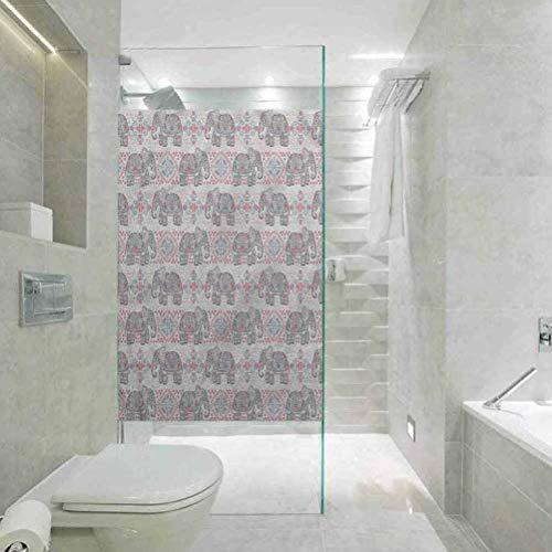 Sichtschutzfolie, dekorativ, für Fenster, Tribal, Fenster-Tönungsfolie, Hitzeregulierung, 60 cm B x 200 cm L