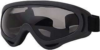 Homyl Óculos de Ciclismo para Uso ao Ar Livre, Óculos de Esqui para Motociclismo, Óculos de Esqui - Cinza, conforme descr