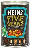Heinz Cinco Beanz 415g (paquete de 12x 415g)...