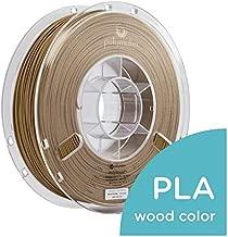 Polymaker PLA (Polylactic Acid) PolyWood Spool, 1.75