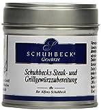 Schuhbecks Gewürz Steak & Grillgewürzzubereitung, 1er Pack, 1 x 60 g