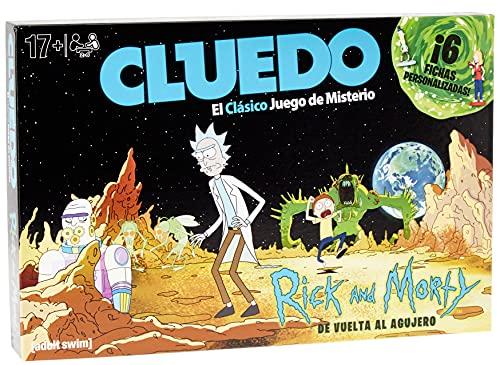 Eleven Force - Cluedo Rick y Morty, Juego de Mesa, Multicolor