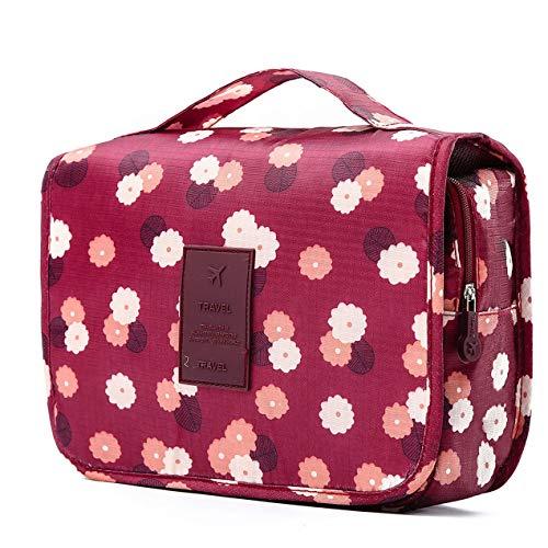 DBSUFV El viaje cosmético compone el envase de la ropa interior impresa del artículo de tocador de la bolsa de las señoras