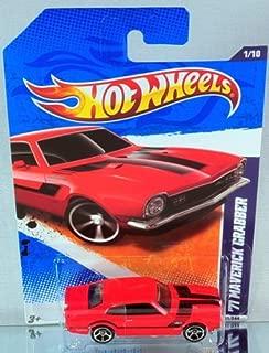 Hot Wheels 2011 Street Beasts 1971 Ford Maverick Grabber Red