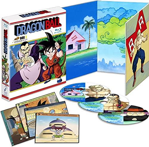 Dragon Ball Box 3 - Episodios 51 a 68 Bluray 3 discos Blu-ra