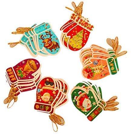 ZYL-YL Carte de Vacances de Noël Carte de Vacances de Noël