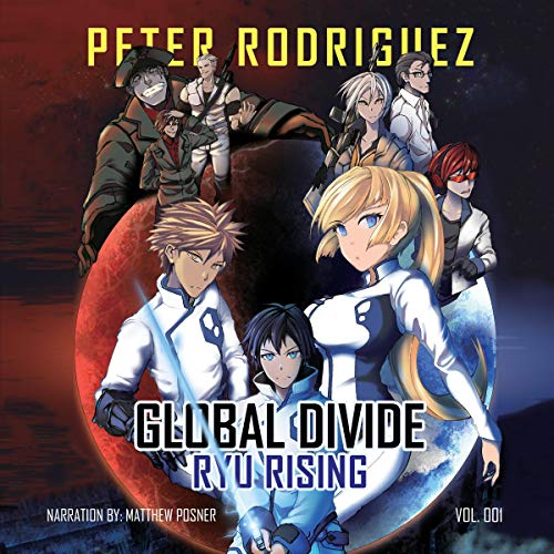 Global Divide: Ryu Rising audiobook cover art
