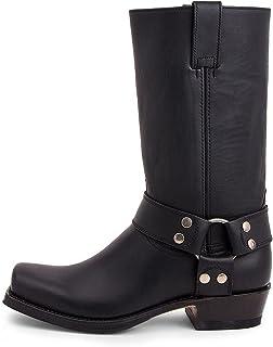 Sendra Boots - 8833 Blues Pull Oil Negro