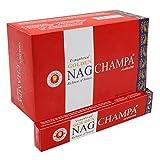 ABN Fashion Golden Nag Champa - Varillas de incienso (aroma natural, laminadas a mano, 3 unidades)
