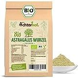 Astragalus Wurzel Pulver Bio | 100g | Tragant-Wurzel-Pulver | 100% naturrein ohne Zusätze | Tragacantha Membranaceus Wurzelpulver |