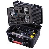 Smatree Floaty SmaCase GA700-3 wasserdichte Rugged Hard Taschen für DJI OSMO Action/Gopro Hero 8/7/6/5/4/3/3+,Hero 2 HD Kamera