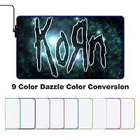 Korn コーン ゲーミングマウスパッド マウスパッド 大型 キーボードパッド 防水 ズレない
