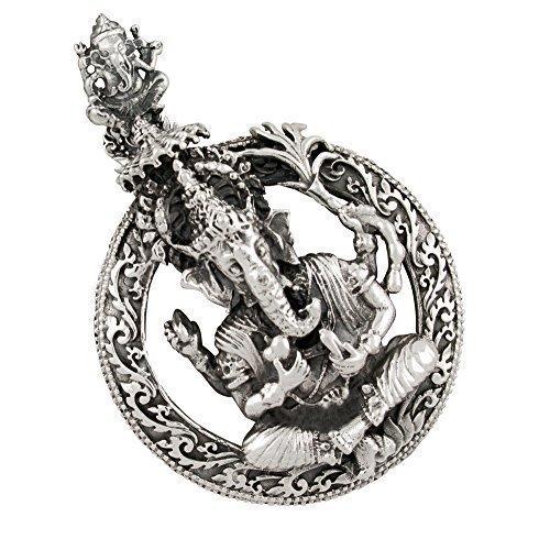 AFP Anhänger Ganesha 925 Sterling Silber AS-410