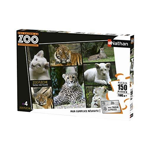 Nathan–Puzzle una Temporada AU Zoo 150Piezas, 86838
