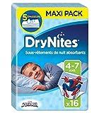 Huggies DryNites debajo de 1