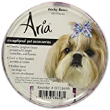 Aria Poly Ribbon Becky Dog Bows Canisters