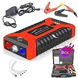 Auto Starthilfe Batteriestartgerät Power Bank 2000A Starthilfe Auto Buster Notfall Booster...