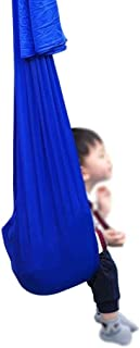 Jlxl Inomhus gungor för sovrum Sensory terapi Barn hängande Cuddle Hammock Inomhus Barn Integration Autism ADHD Aspergers ...
