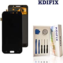 KDIFIX for Samsung Galaxy A7 2017 A720 A720F SM-A72 LCD Touch Screen Assembly with Full Professional Repair Tools kit (Black)