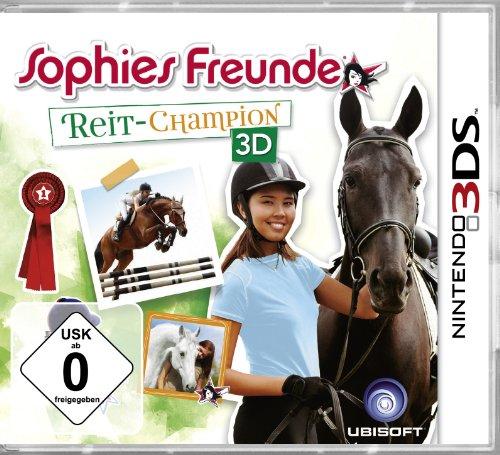 Sophies Freunde - Reit - Champion 3D [Software Pyramide] - [Nintendo 3DS]