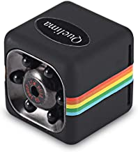Hidden Camera,Spy Camera, Mini Wireless Full HD 1080P DV Sports Action Camera DVR Recorder Camera RD with Night Vision and Motion Detection, Built-in Battery, No WiFi Need (Black, Free)